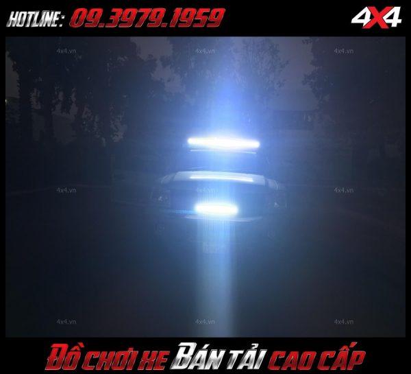 Led bar <strong>độ đèn Ford Ranger</strong>: bán tải độ đèn led đẹp và đẹp ở Tp.TpHCM