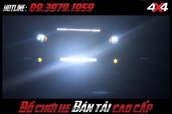 Picture Led bar oto: Đèn led bar là phụ kiện rất cần thiết để giúp soi sáng cho xe bán tải, xe 4 bánh vào ban đêm