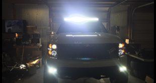 Hình ảnh Led bar: tại TpHCM đèn led bar được độ siêu nhiều cho ô tô xe Ford Ranger